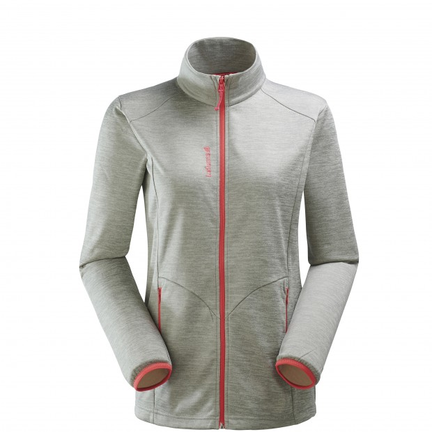 Micro polaire mix and match - femme LD ACCESS MICRO F-ZIP Gris Lafuma