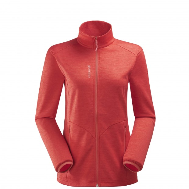 Micro polaire mix and match - femme LD ACCESS MICRO F-ZIP Rouge Lafuma