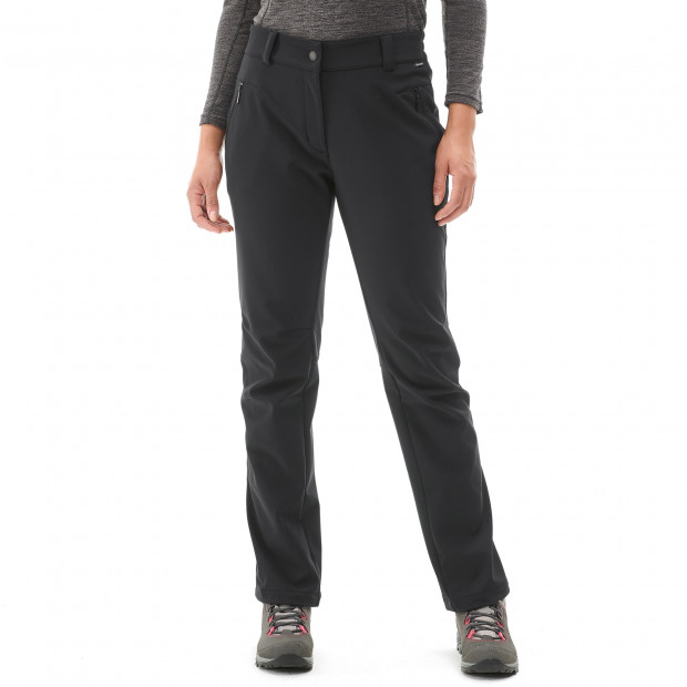 Pantalon softshell - femme ACCESS SOFTSHELL PANTS W Noir Lafuma 2