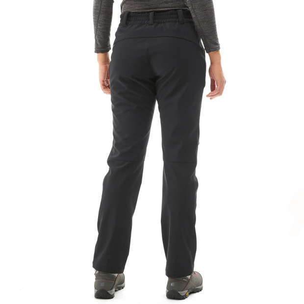 Pantalon softshell - femme ACCESS SOFTSHELL PANTS W Noir Lafuma 3