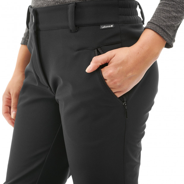 Pantalon softshell - femme ACCESS SOFTSHELL PANTS W Noir Lafuma 4