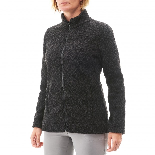 Polaire mix and match - femme LD STATEN F-ZIP Rouge Lafuma 3
