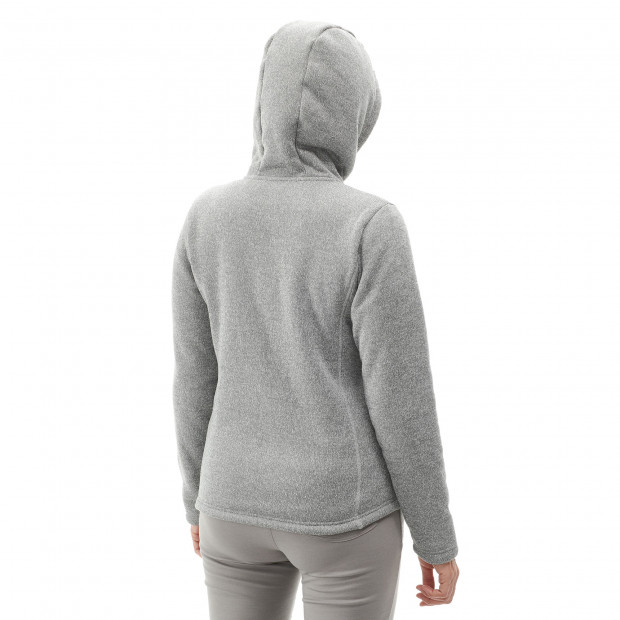 Polaire stretch - femme CALI HOODIE W Rouge Lafuma 3