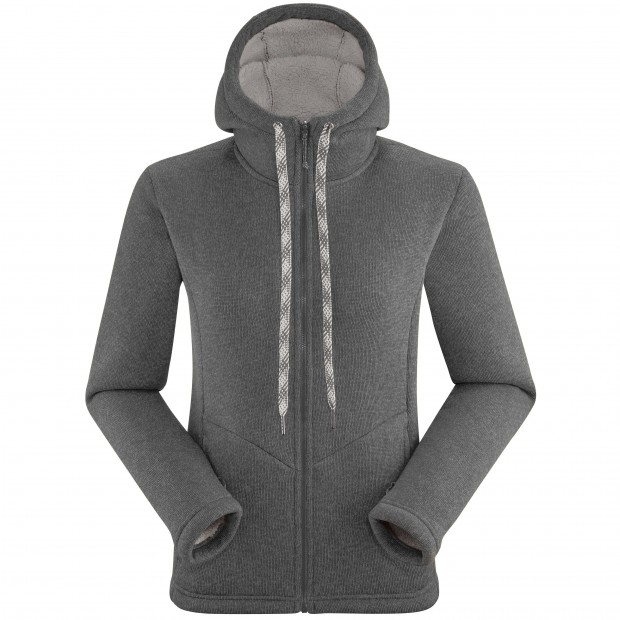 Polaire cocooning - Femme - GRIS CALI HOODIE W Lafuma