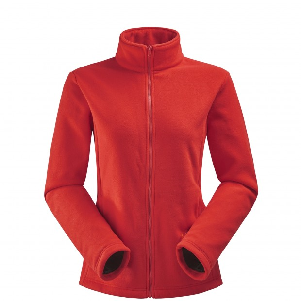 Veste mix and match - femme LD CALDO HEATHER 3in1 JKT Rouge Lafuma 2