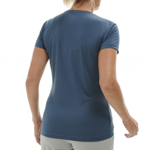 Tee-Shirt Manches courtes Femme CORPORATE TEE W GRIS Lafuma 3