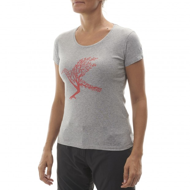 Tee-Shirt manches courtes - Femme MAPLE TEE W Rose Lafuma 3