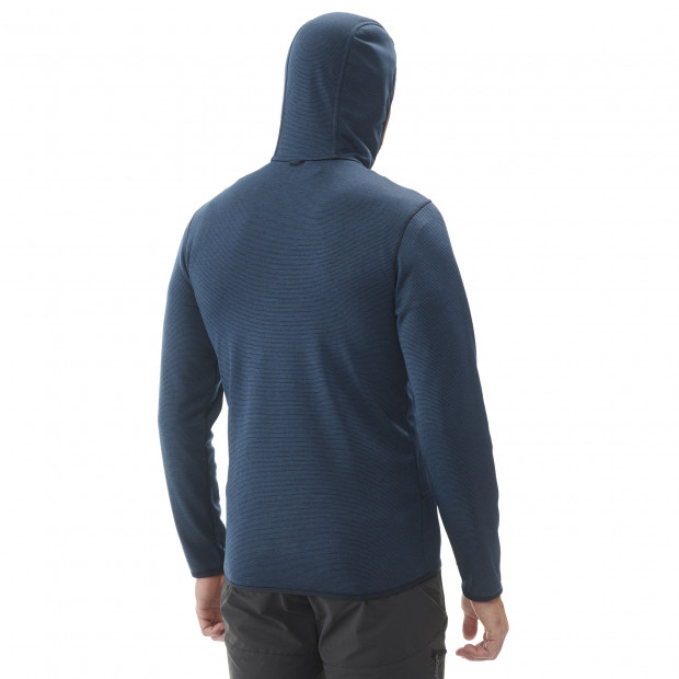 Polaire technique - homme SHIFT HOODIE M Gris Lafuma 3