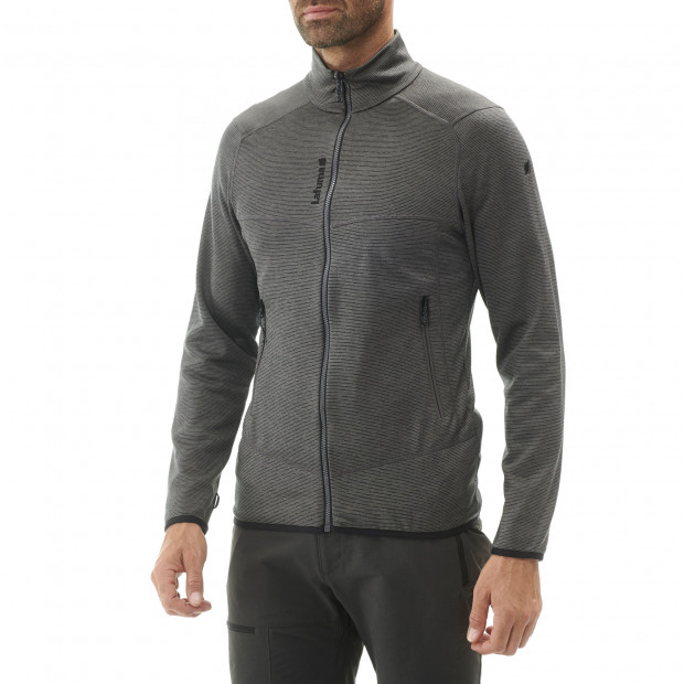 Polaire technique - homme SHIFT F-ZIP M Gris Lafuma 4
