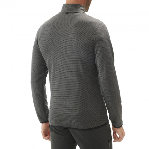 Polaire technique - homme SHIFT F-ZIP M Gris Lafuma 2