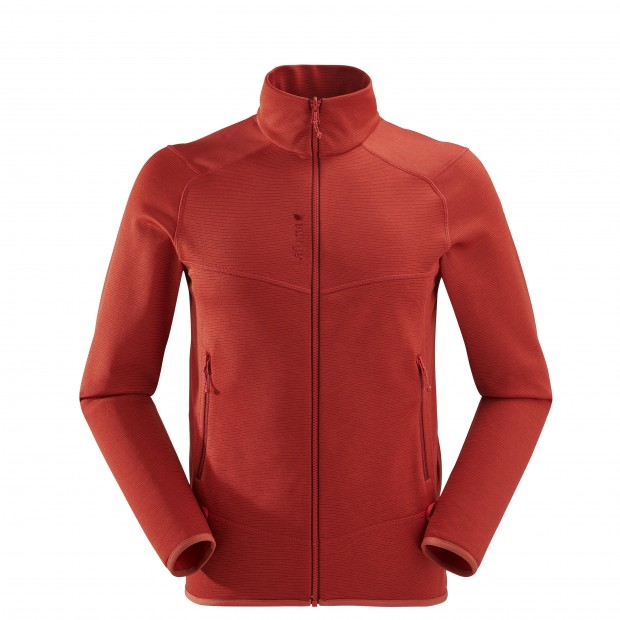 Polaire mix&match - Homme SHIFT F-ZIP Rouge Lafuma