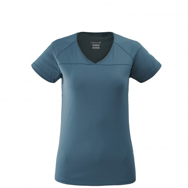 Tee-Shirt Manches courtes Femme TRACK TEE W GRIS Lafuma