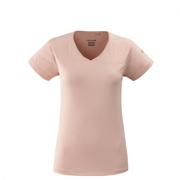 Tee-Shirt manches courtes - Femme TRACK TEE W Rose Lafuma