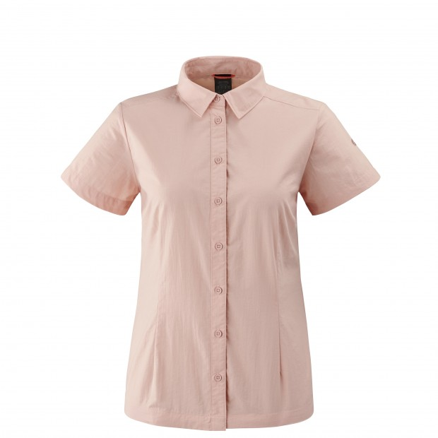 Chemise manches courtes - Femme ACCESS SHIRT W Rose Lafuma