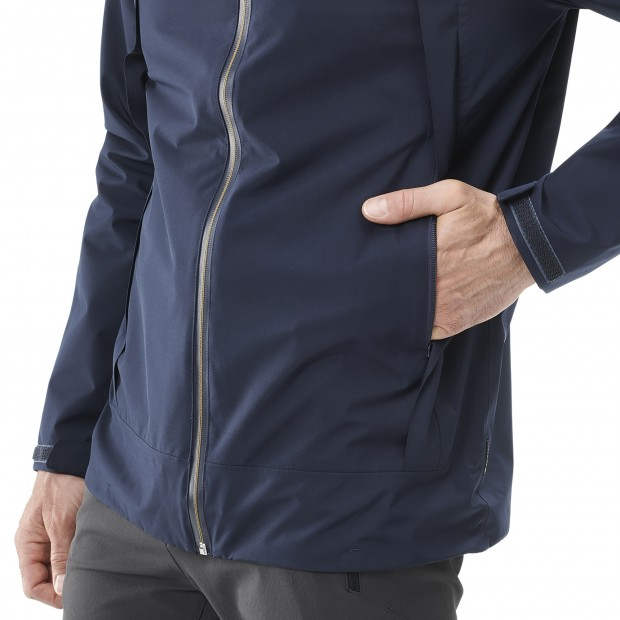 Veste Gore-tex Homme WAY GORE-TEX ZIP-IN JKT M BLEU Lafuma 4