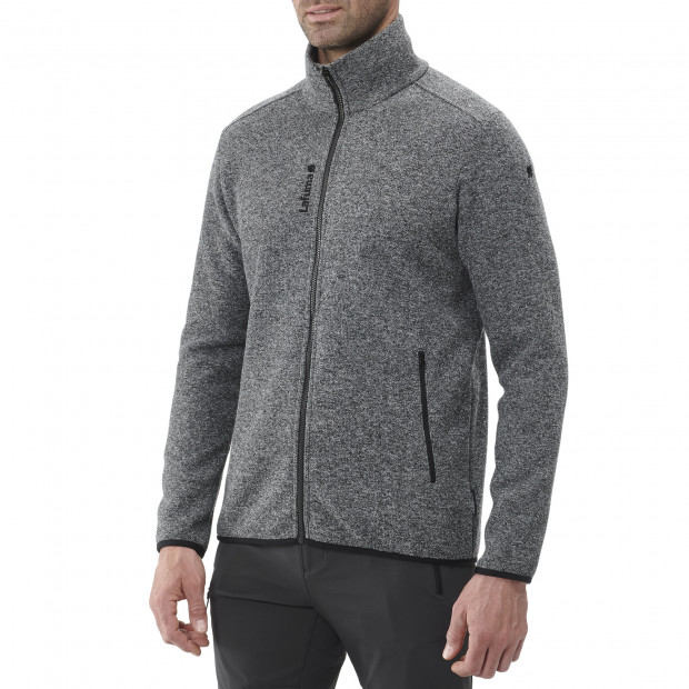 Polaire softshell - homme ULSTER F-ZIP M Gris Lafuma 2