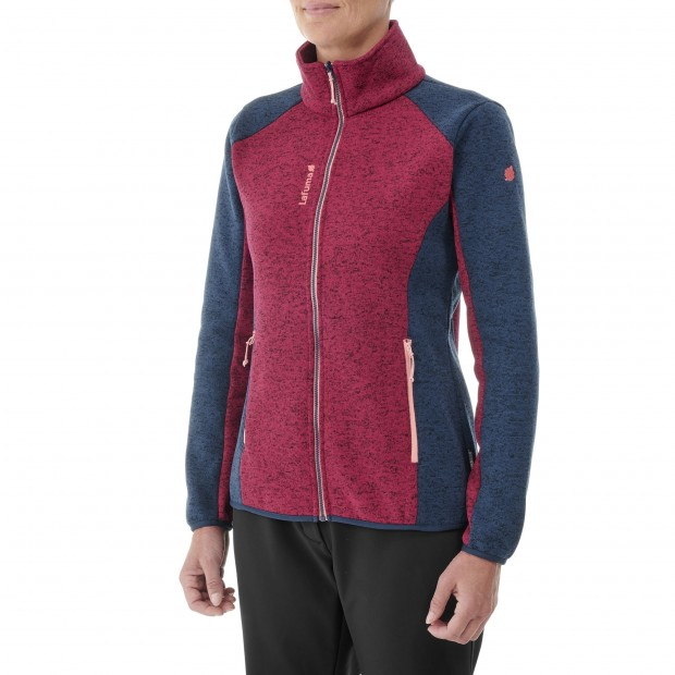 Polaire - Femme - ROUGE CLOUDY F-ZIP W Lafuma 2