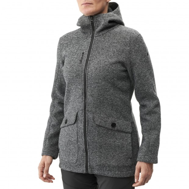 Polaire longue - Femme - GRIS ULSTER CABAN W Lafuma 2