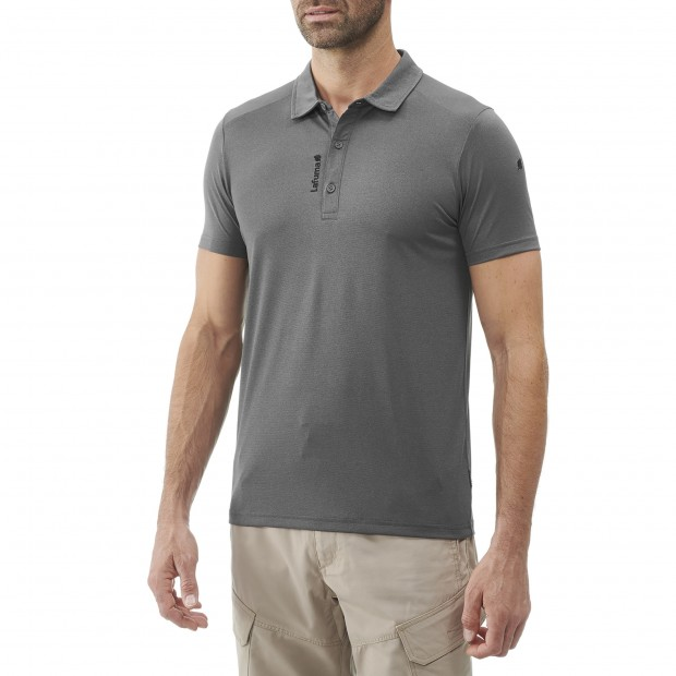 Polo Manches courtes Homme SHIELD POLO M GRIS Lafuma 2