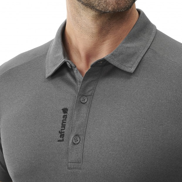 Polo Manches courtes Homme SHIELD POLO M GRIS Lafuma 4
