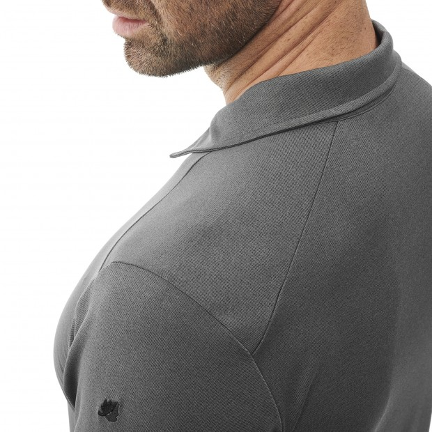 Polo Manches courtes Homme SHIELD POLO M GRIS Lafuma 5