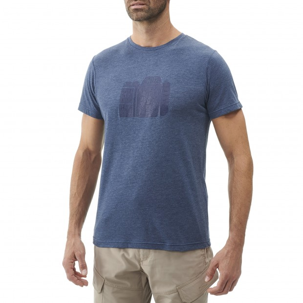 Tee-Shirt Manches courtes Homme ADVENTURE TEE M CAMEL Lafuma 2