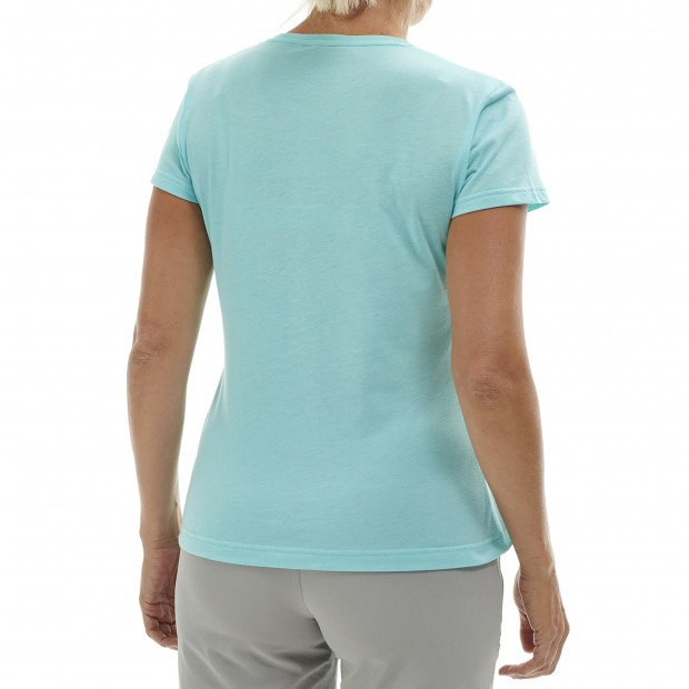 Tee-Shirt manches courtes - Femme - TURQUOISE PEARL TEE W Lafuma 3
