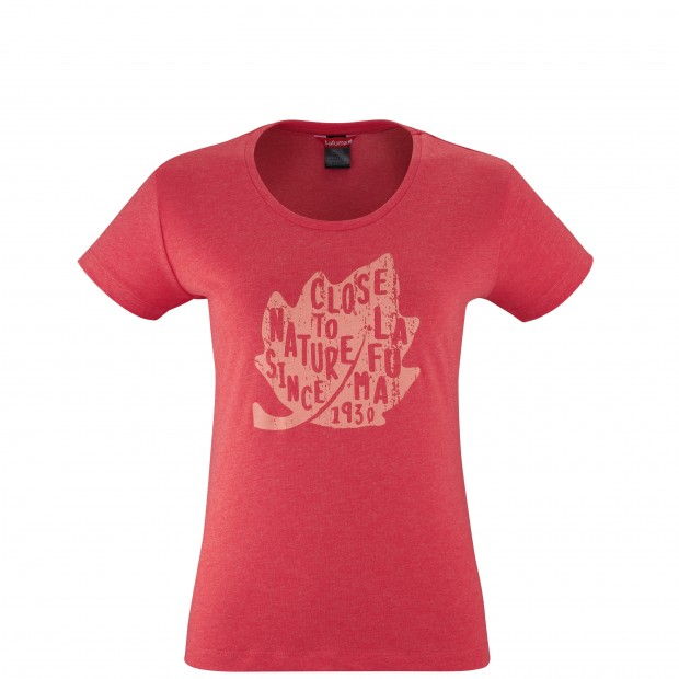Tee-Shirt manches courtes - Femme - ROUGE PEARL TEE W Lafuma