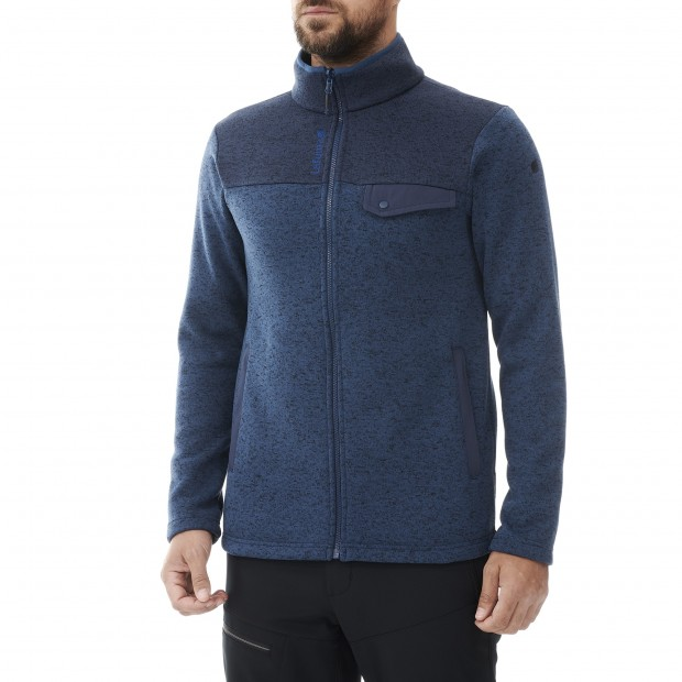 Polaire - Homme - MARINE CLOUDY F-ZIP M Lafuma 2