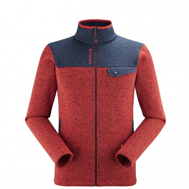 Polaire - Homme - ROUGE CLOUDY F-ZIP M Lafuma