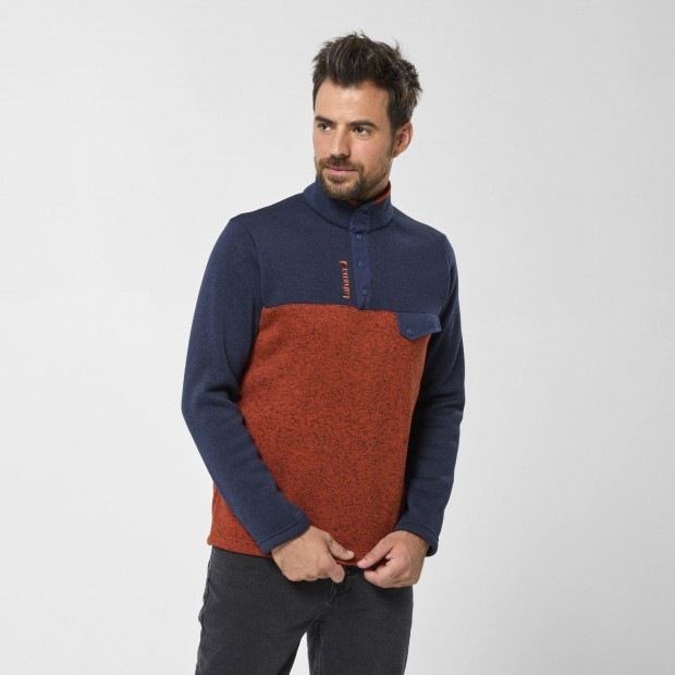 Pull - Homme - ROUGE CLOUDY SWEATER M Lafuma 2