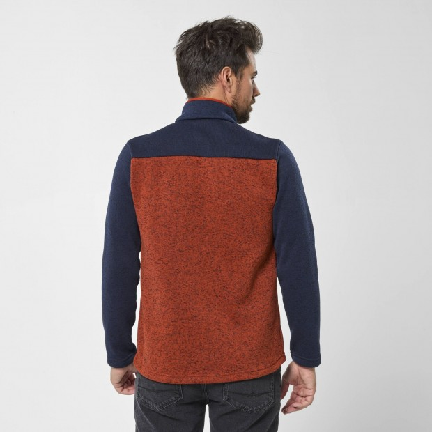 Pull - Homme - ROUGE CLOUDY SWEATER M Lafuma 3
