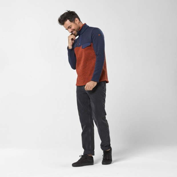 Pull - Homme - ROUGE CLOUDY SWEATER M Lafuma 6