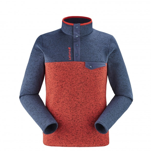 Sweat Polaire  - Homme - ROUGE CLOUDY SWEATER M Lafuma