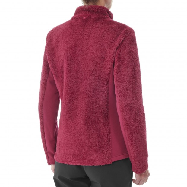 Polaire cocooning - Femme - ROUGE CHATHAM F-ZIP W Lafuma 4