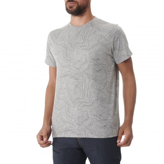 Tee-Shirt manches courtes - Homme - GRIS GRAPHIC TEE M Lafuma 2