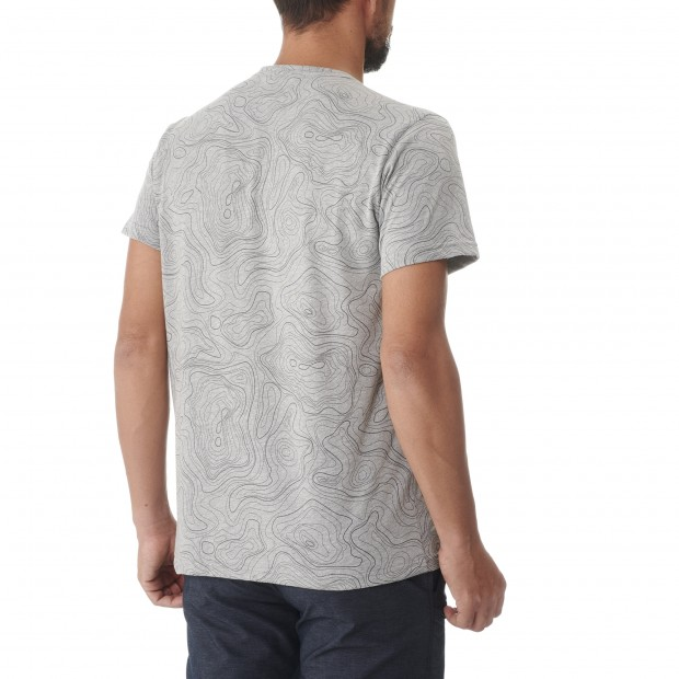 Tee-Shirt manches courtes - Homme - GRIS GRAPHIC TEE M Lafuma 3