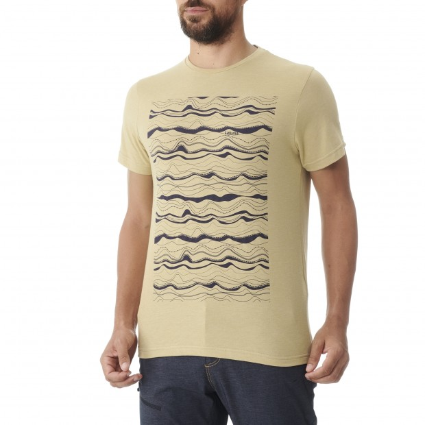 Tee-Shirt manches courtes - Homme - BEIGE ADVENTURE TEE M Lafuma 2