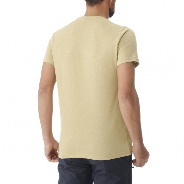 Tee-Shirt manches courtes - Homme - BEIGE ADVENTURE TEE M Lafuma 3