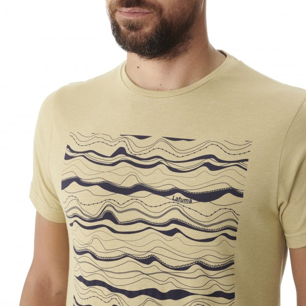 Tee-Shirt manches courtes - Homme - BEIGE ADVENTURE TEE M Lafuma 4
