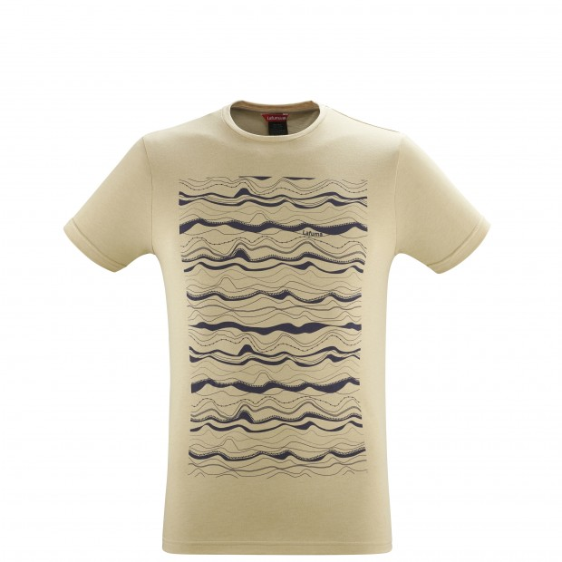 Tee-Shirt manches courtes - Homme - BEIGE ADVENTURE TEE M Lafuma