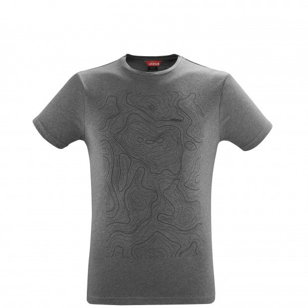 Tee-Shirt manches courtes - Homme - GRIS ADVENTURE TEE M Lafuma