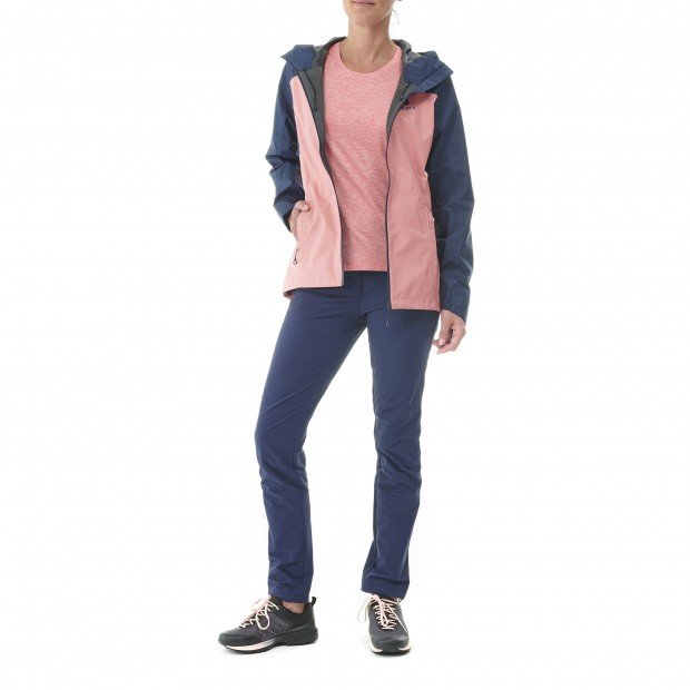 Tee-Shirt manches courtes - Femme - ROSE TRACK TEE W Lafuma 2