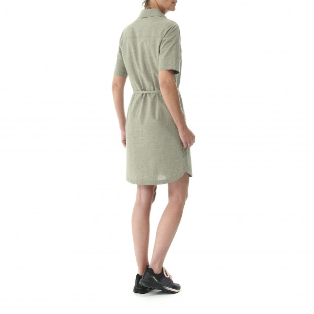 Robe - Femme - KAKI HEMP DRESS W Lafuma 3
