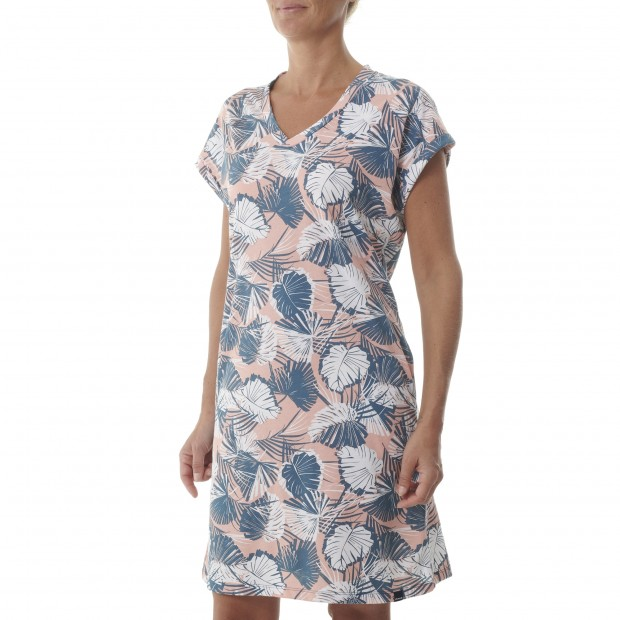 Robe Femme - BLEU GRAPHIC DRESS W Lafuma 2