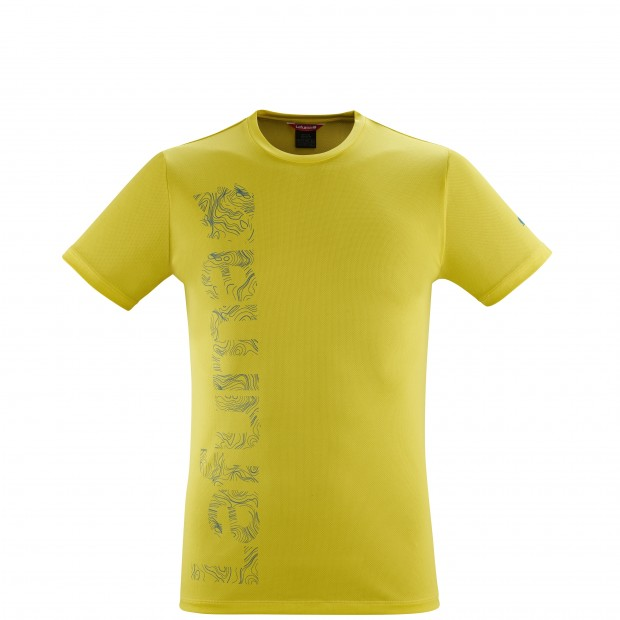 Tee-Shirt manches courtes - Homme - JAUNE CORPORATE TEE M Lafuma