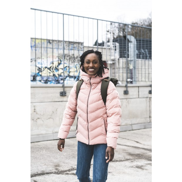 Doudoune isolation synthétique recyclée - Femme - MARINE STATEN JACKET W Lafuma 9