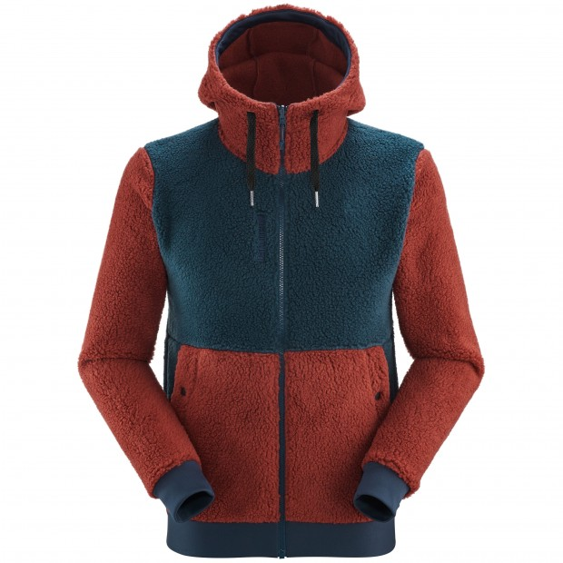 Polaire - Homme - ROUGE DERRY HOODIE M Lafuma