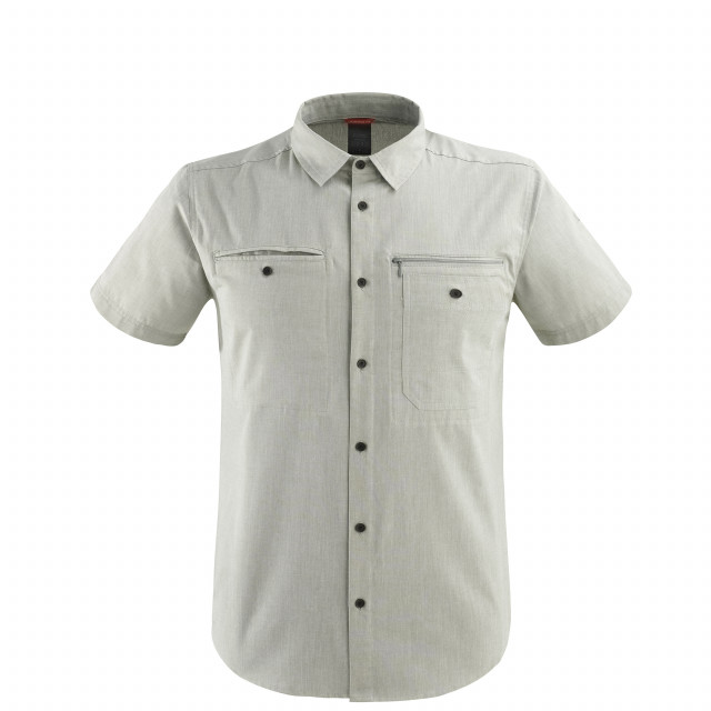 Chemise manches longues - Homme TRAVELLER SHIRT SS Kaki Lafuma
