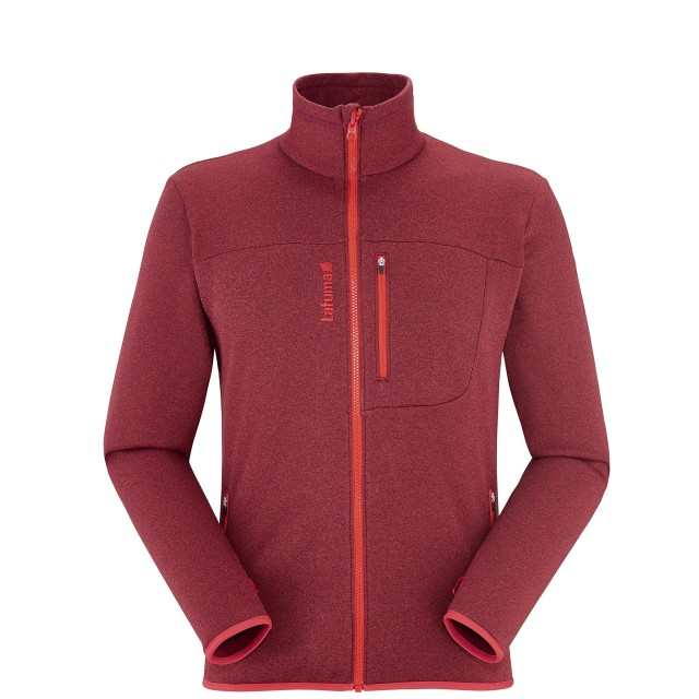 Polaire urbaine Homme SHIFT MICRO ZIP-IN Rouge Lafuma